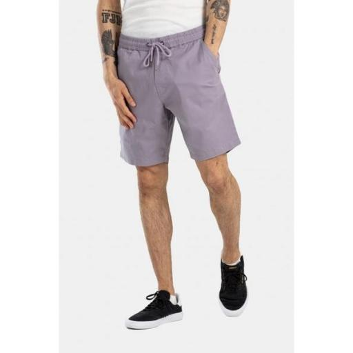 REELL Pantalón Reflex Easy Short LW Purple