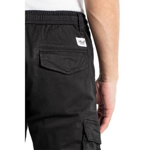 REELL Pantalón Reflex Rib Cargo Black [2]
