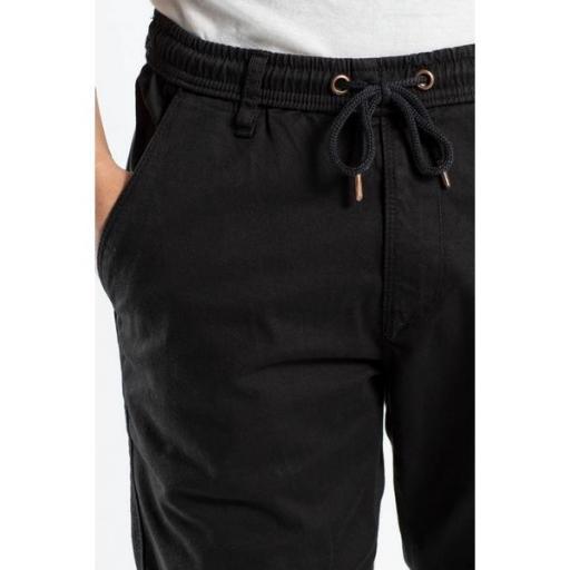 REELL Pantalón Reflex Rib Cargo Black [3]