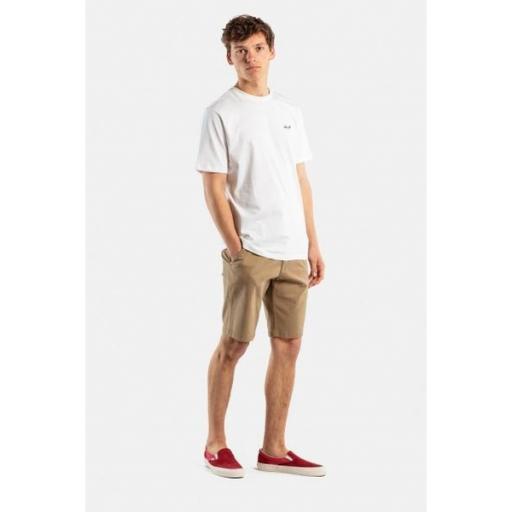 REELL Pantalones Flex Grip Chino Short Dark Sand [2]