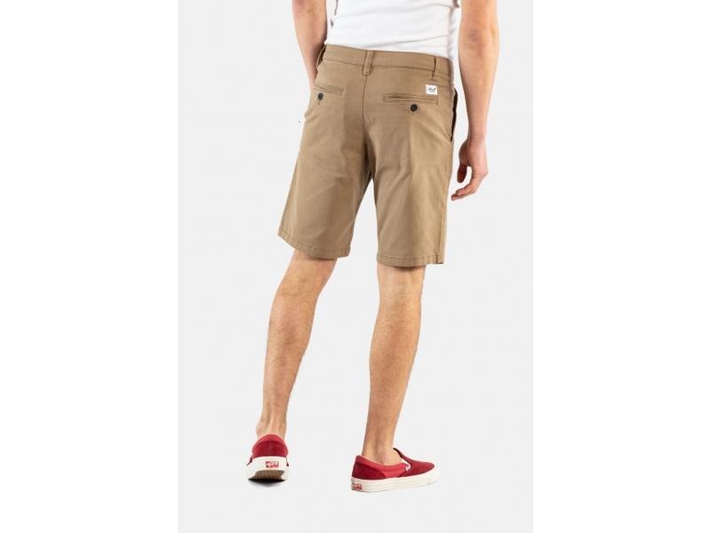 REELL Pantalones Flex Grip Chino Short Dark Sand