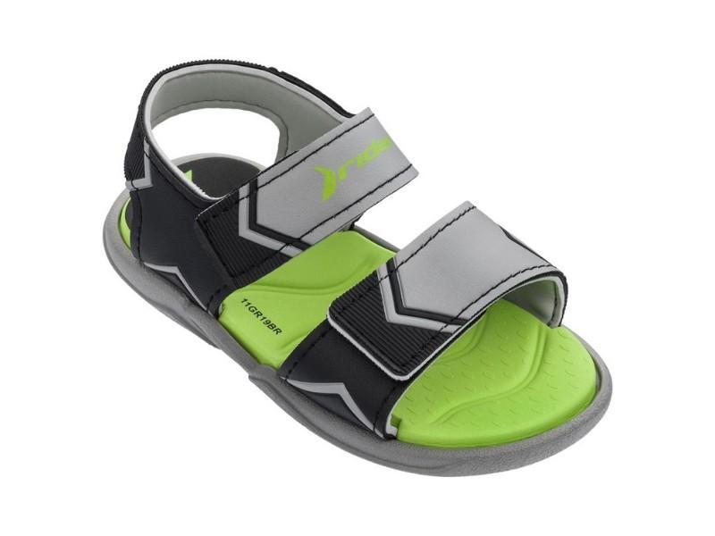 RIDER Sandalia Comfort Baby Grey Black Green