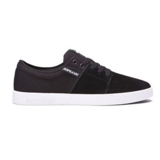 SUPRA Zapatilla de skate Stacks II Black Grey White