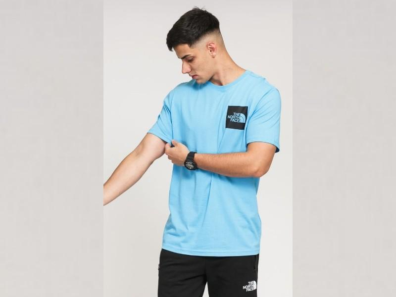 THE NORTH FACE Camiseta M S/S Fine Tee Ethereal Blue
