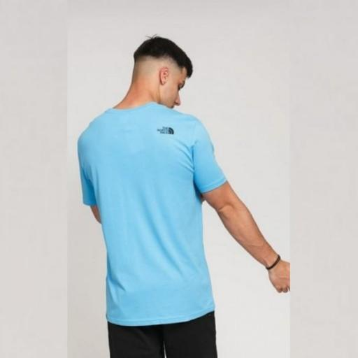 THE NORTH FACE Camiseta M S/S Fine Tee Ethereal Blue [1]