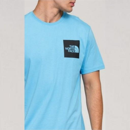 THE NORTH FACE Camiseta M S/S Fine Tee Ethereal Blue [2]