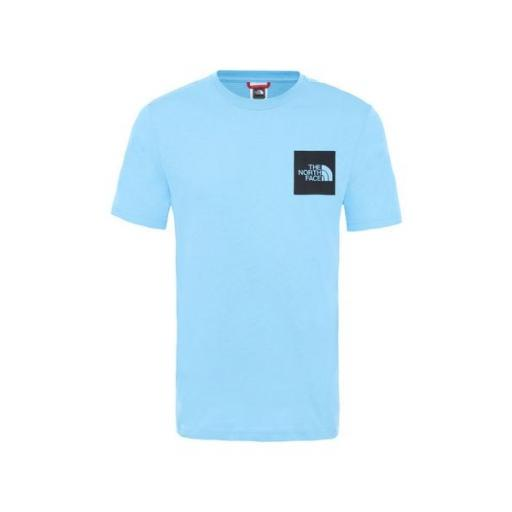 THE NORTH FACE Camiseta M S/S Fine Tee Ethereal Blue [3]