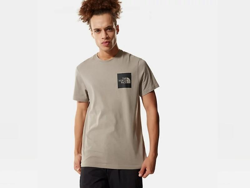 THE NORTH FACE Camiseta M S/S Fine Tee Mineral Grey