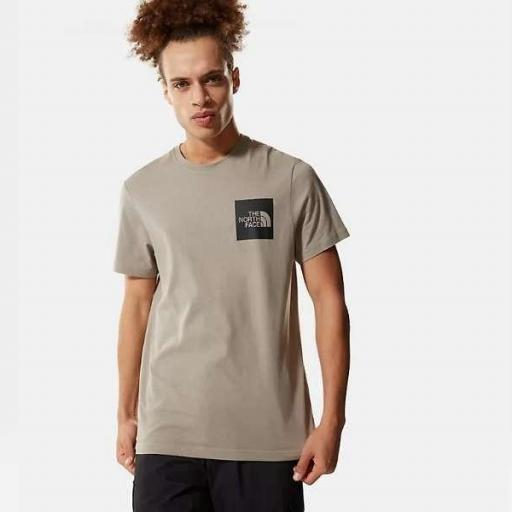 THE NORTH FACE Camiseta M S/S Fine Tee Mineral Grey [2]