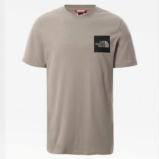 THE NORTH FACE Camiseta M S/S Fine Tee Mineral Grey [3]