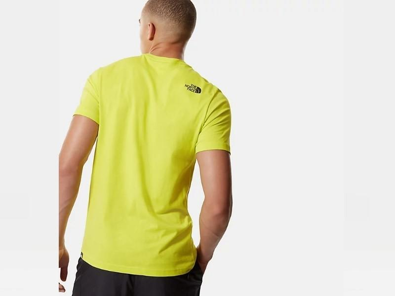 THE NORTH FACE Camiseta M S/S Fine Tee Spring Green