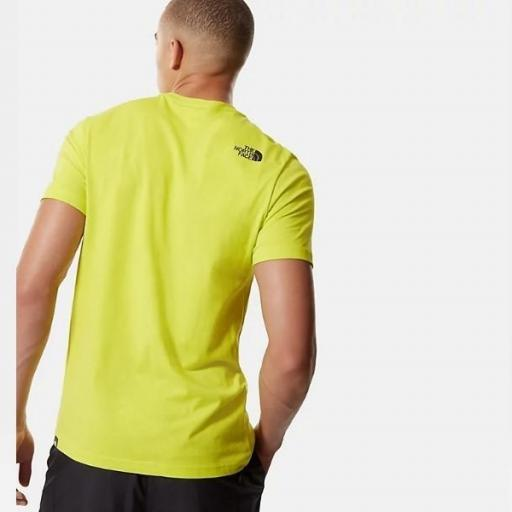 THE NORTH FACE Camiseta M S/S Fine Tee Spring Green [0]