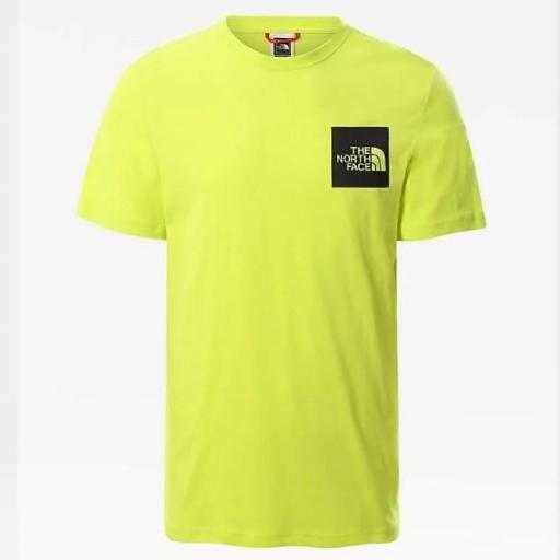 THE NORTH FACE Camiseta M S/S Fine Tee Spring Green [2]
