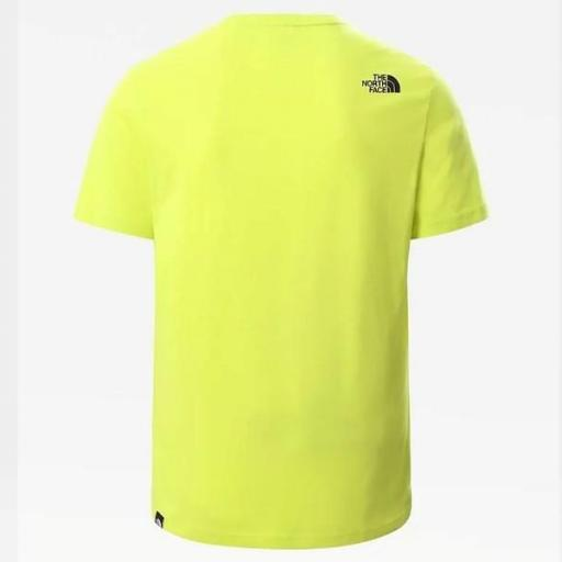 THE NORTH FACE Camiseta M S/S Fine Tee Spring Green [3]