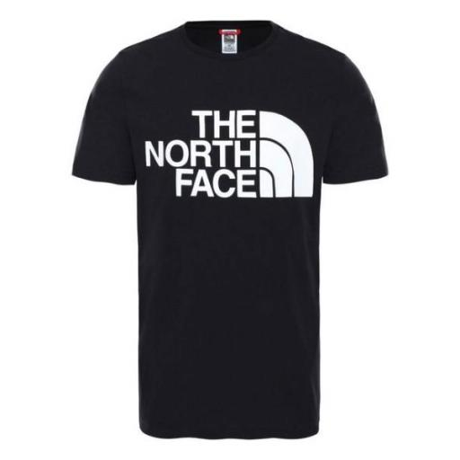 THE NORTH FACE Camiseta M Standard SS TNF Black White [1]