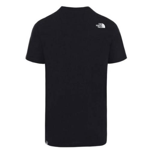 THE NORTH FACE Camiseta M Standard SS TNF Black White [0]