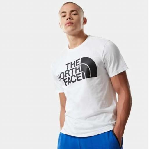 THE NORTH FACE Camiseta M Standard SS TNF White