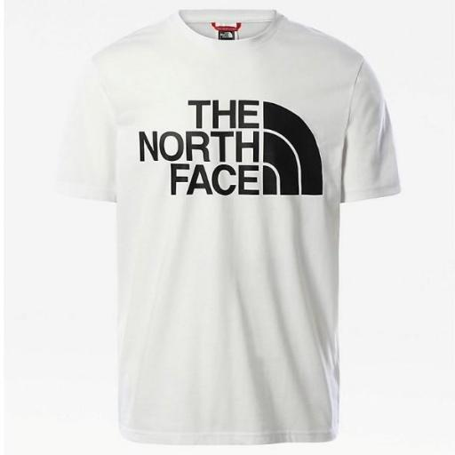 THE NORTH FACE Camiseta M Standard SS TNF White [2]