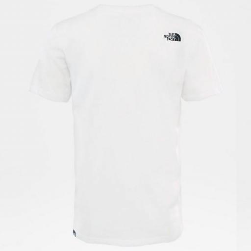THE NORTH FACE Camiseta M S/S Fine Tee White TNF Black [2]