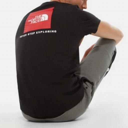 THE NORTH FACE Camiseta SS Red Box TNF Black