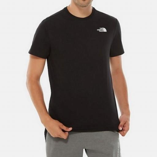 THE NORTH FACE Camiseta SS Red Box TNF Black [1]