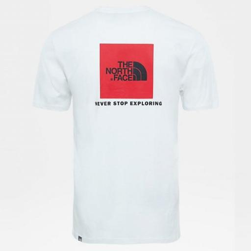 THE NORTH FACE Camiseta SS Red Box White [2]