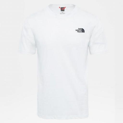 THE NORTH FACE Camiseta SS Red Box White [3]