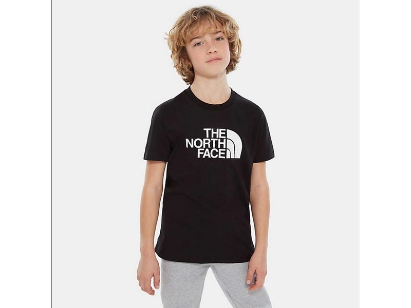 THE NORTH FACE Camiseta niño Easy Black White