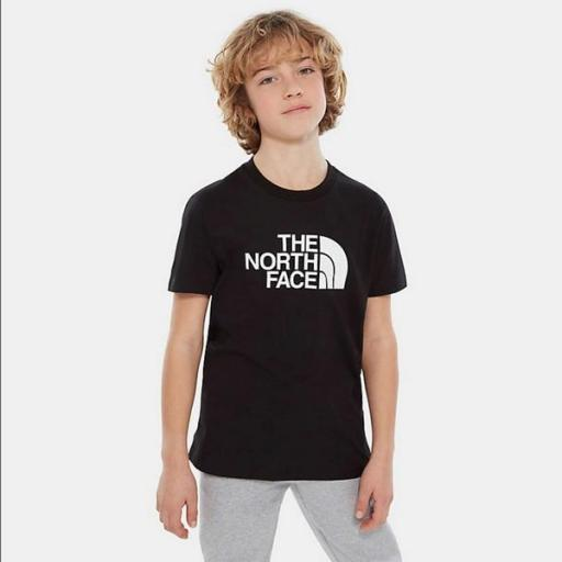 THE NORTH FACE Camiseta niño Easy Black White