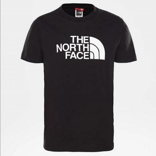 THE NORTH FACE Camiseta niño Easy Black White [3]