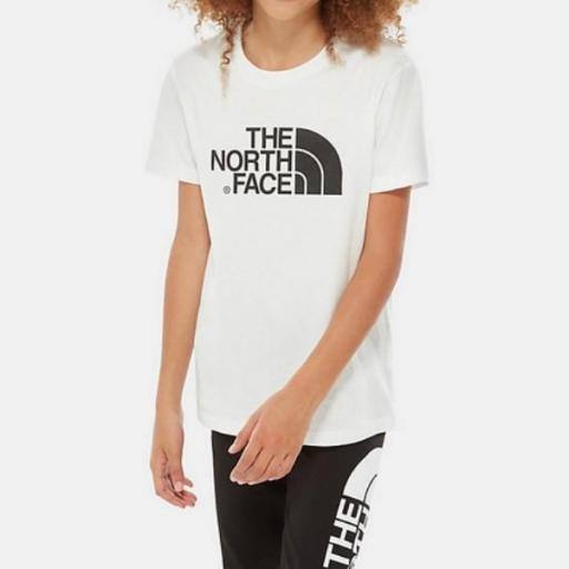 THE NORTH FACE Camiseta niño Easy White Black [0]