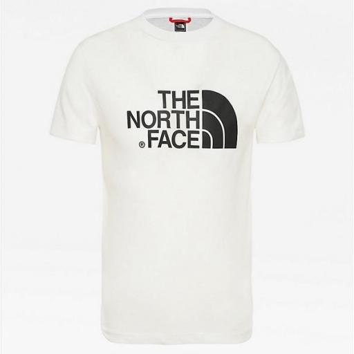 THE NORTH FACE Camiseta niño Easy White Black [2]