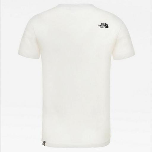 THE NORTH FACE Camiseta niño Easy White Black [3]
