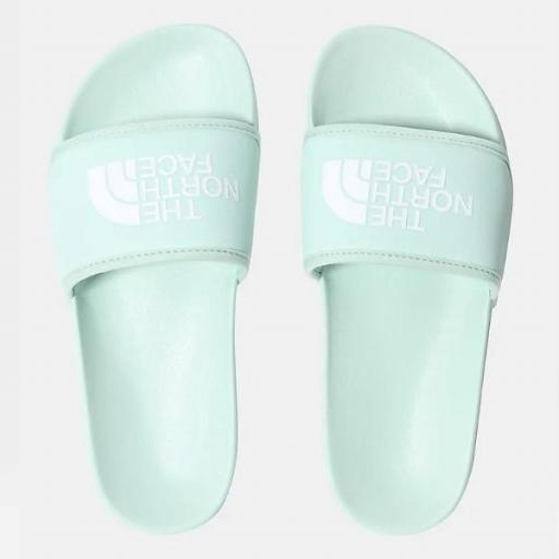 THE NORTH FACE Chancla Base Camp Slide III Misty Jade TNF White [2]