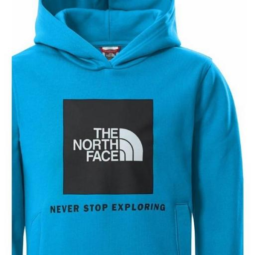 THE NORTH FACE Sudadera Y Box P/O Hoodie Meridian Blue [2]