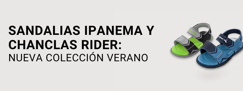 Sandalias Ipanema y chanclas Rider: Nueva colección verano