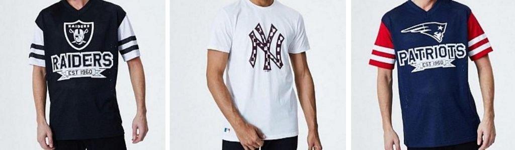 Camisetas New Era nuevas