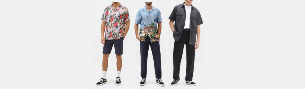 Camisas estampadas para hombres