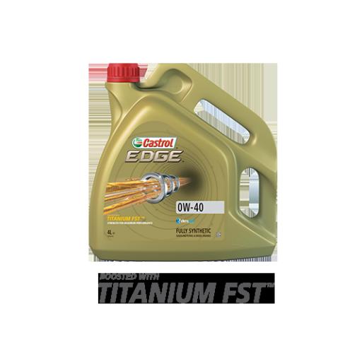 CASTROL EDGE 0W40 A3/B4 TITANIUM FST 4L ( 4 UNIDADES )
