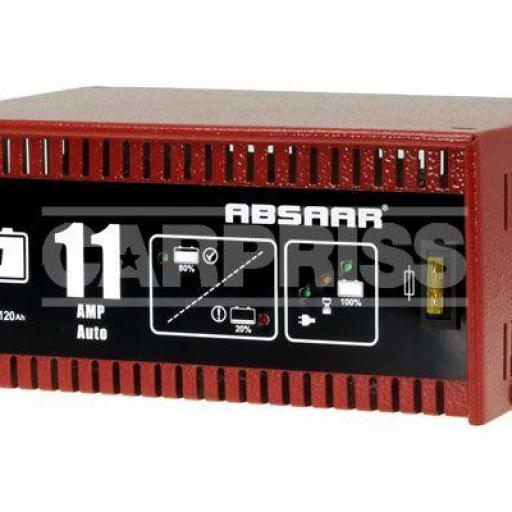 Cargador de batería automático 11 Amp.
