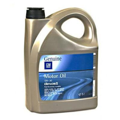 OPEL 5w30 DEXOS 2 5 litros ( LOTE 8 UNIDADES )