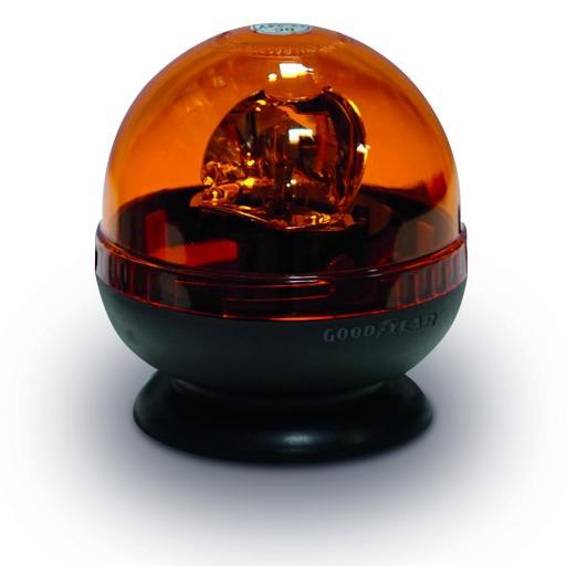 ROTATIVO GOODYEAR MAGNETICO CON LAMPARA HALOGENA GY 101WL 12-24V Tornillo sin fin