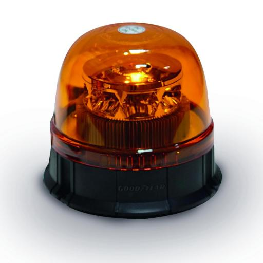 ROTATIVO MAGNETICO LED 12-24V