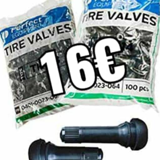 Válvula tr413 bolsa 100 unidades