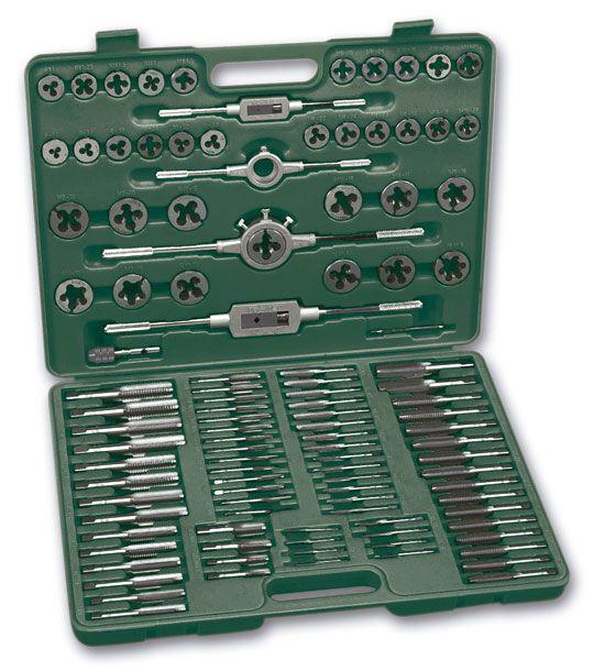 M53255 Juego de herramientas para roscar o filetar, 110 pzas.