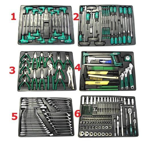 M28270 Carro para taller con herramientas surtidas, 321 pzas. [1]