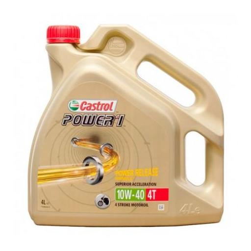 CASTROL POWER 1 4T 10W40 4 LITROS
