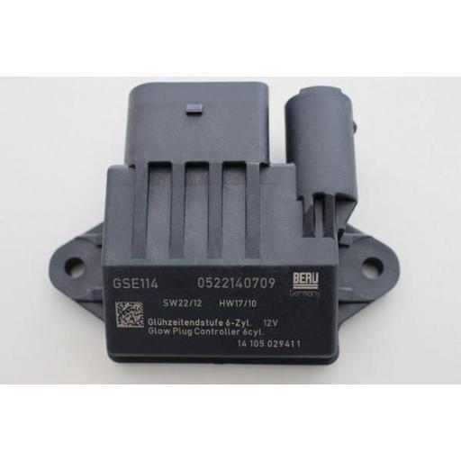 Unidad de control, tiempo de incandescencia compatible BERU : GSE114