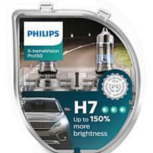 Philips 12972XV+S2 - Bombillas para coches (55W, H7, Halógeno) [Embalaje S2] [0]