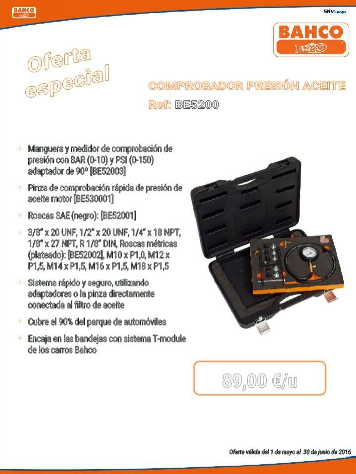 COMPROBADOR PRESION ACEITE